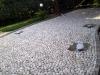 pavimenti in ciottoli: fine posa