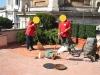 pavimenti in cotto:lavaggio