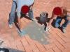 pavimenti in cotto: stuccatura con boiacca