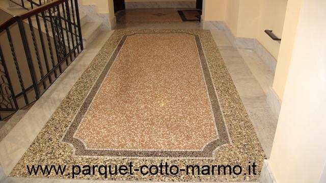 Pavimenti alla veneziana pavimenti a roma - Decori per pavimenti ...