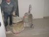 Pavimenti in graniglie e cementine: levigatrice 1 fase