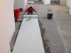 Massetto in cemento per interni: stesura-feltro