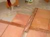 Pavimenti misti: cotto-legno,