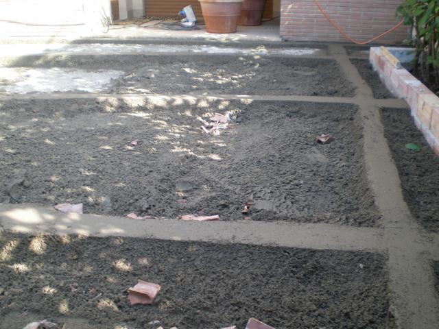 Massetto per esterno pavimenti a roma for Costo per livellare il pavimento in casa