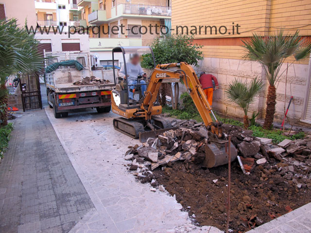 Massetto per esterno pavimenti a roma