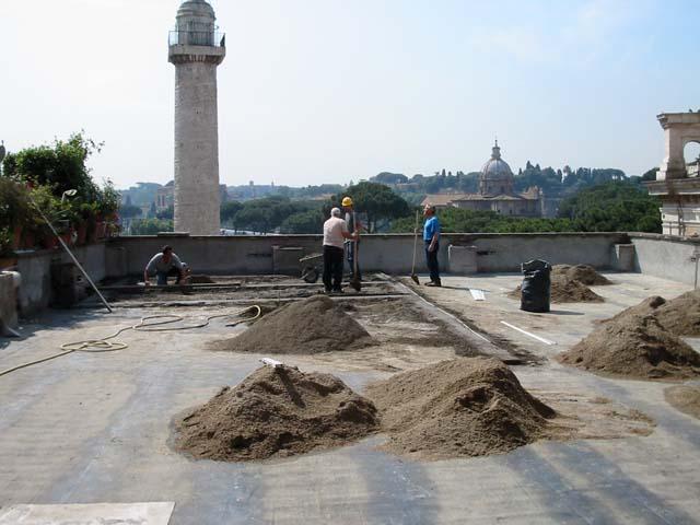 Massetto per Esterno - Pavimenti a Roma
