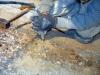 Terrazzo veneziano: asportazione con frese pari in cemento
