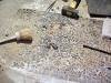 Terrazzo veneziano: inserimento mosaico 1