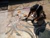 Pavimenti in cocciopesto o battuto:restauro mosaico romano al palatino