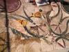 Pavimenti in cocciopesto o battuto:restauro mosaico romanol palatino