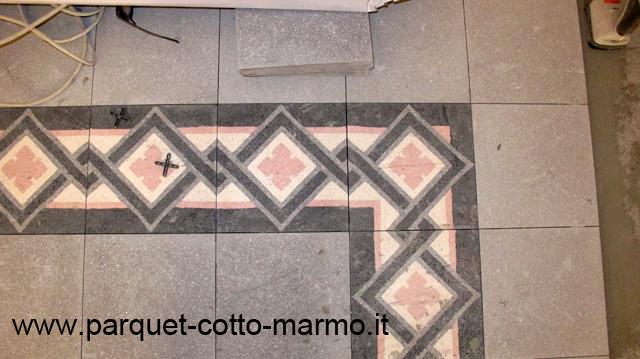 Pavimenti in graniglie o marmette pavimenti a roma - Piastrelle antiche cemento ...