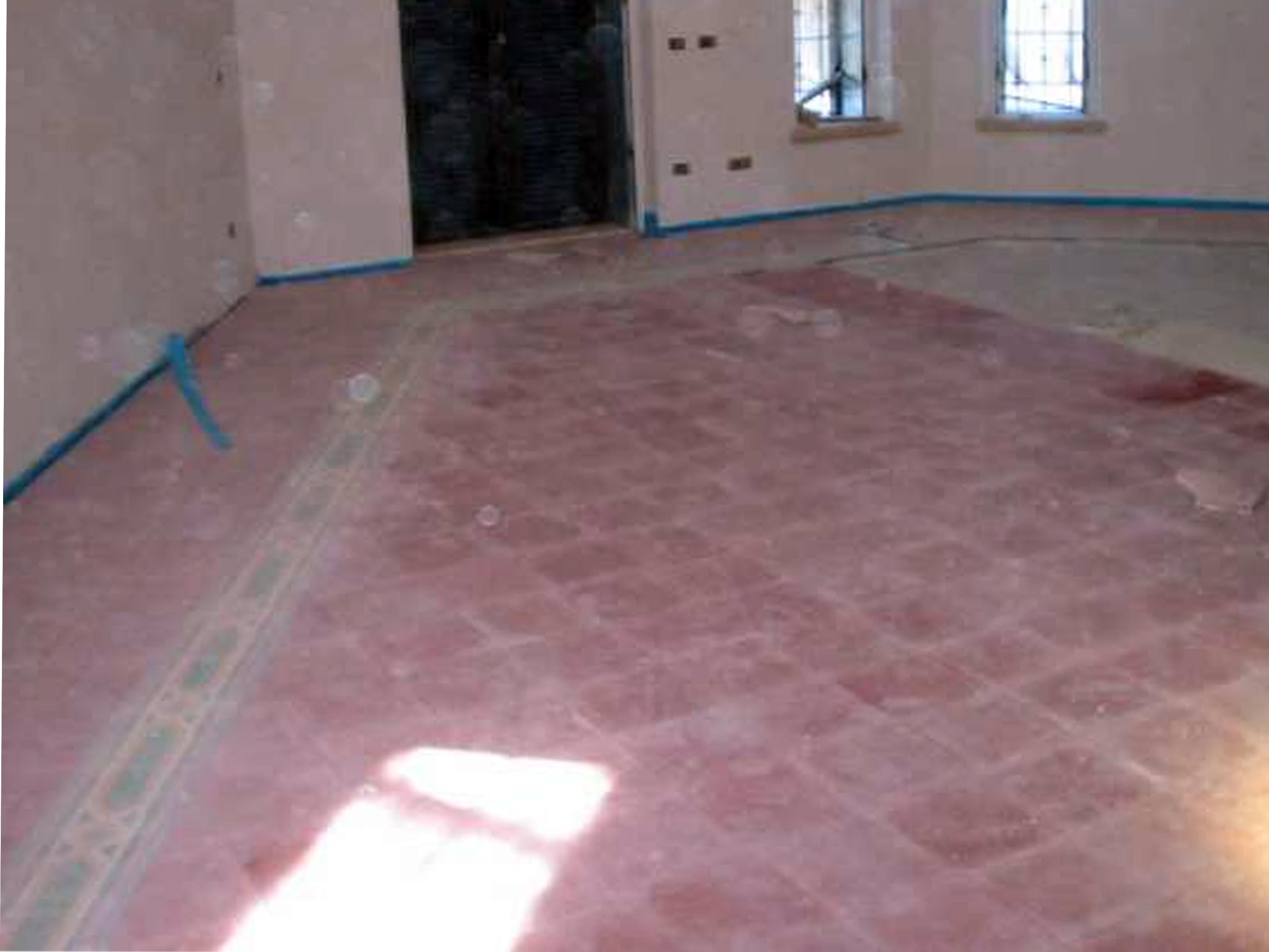 Pavimenti in graniglie o marmette pavimenti a roma - Posa piastrelle pavimento ...