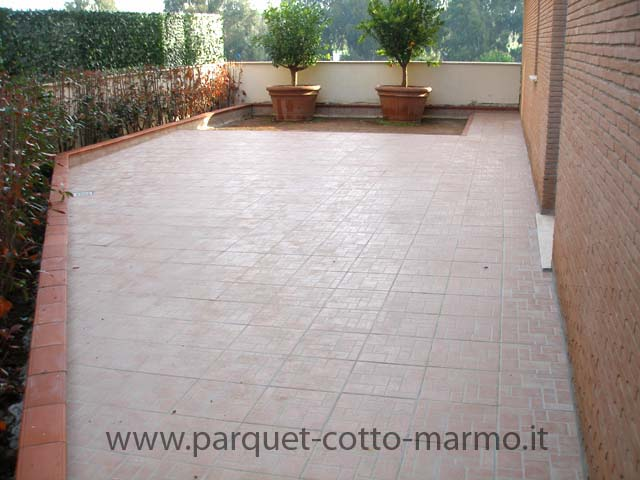 Pavimenti in gres porcellanato pavimenti a roma - Posa piastrelle esterno ...