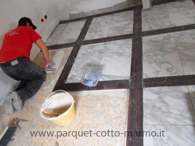 Pavimenti in gres effetto marmo prezzi cool camini in gesso con