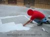 pavimenti in gres porcellanato: posa inizio,