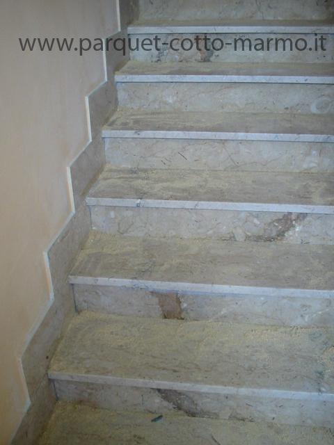 Pavimenti in marmo e in granito pavimenti a roma - Scale moderne in marmo ...