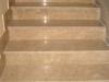 pavimenti in marmo: perlato di sicilia,scale,post opera,lucidato a piombo,
