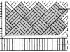 pavimenti in parquet: fascia-bindello-quadro-diagonale