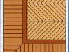 pavimenti in parquet tradizionale:spina-ungherese