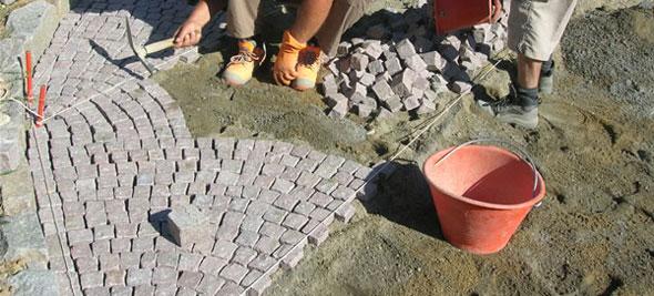 Pavimenti in porfido la nostra guida pavimenti a roma - Fai da te pavimento esterno ...