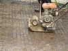 pavimenti in porfido:battitura, bagnatura,