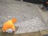 pavimenti in porfido: porfido cubetti,posa dritta