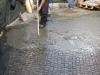 pavimenti in porfido: lavaggiopstuccatura