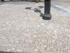 pavimenti in porfido: fine posa dritta cubetti porfido
