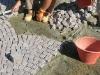 pavimenti in porfido: porfido,posa,cubetti,posa a ventaglio,