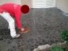 pavimenti in porfido: stuccatura, opera incerta,