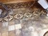 pavimento in cementine antiche che lavate e trattate