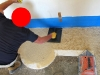 Pavimento alla veneziana: battitura fascia esterna