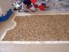 Seminato  alla veneziana: semina campo centrale