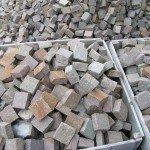 Pavimenti in porfido: Cubetti 10X10 spessore 4-6