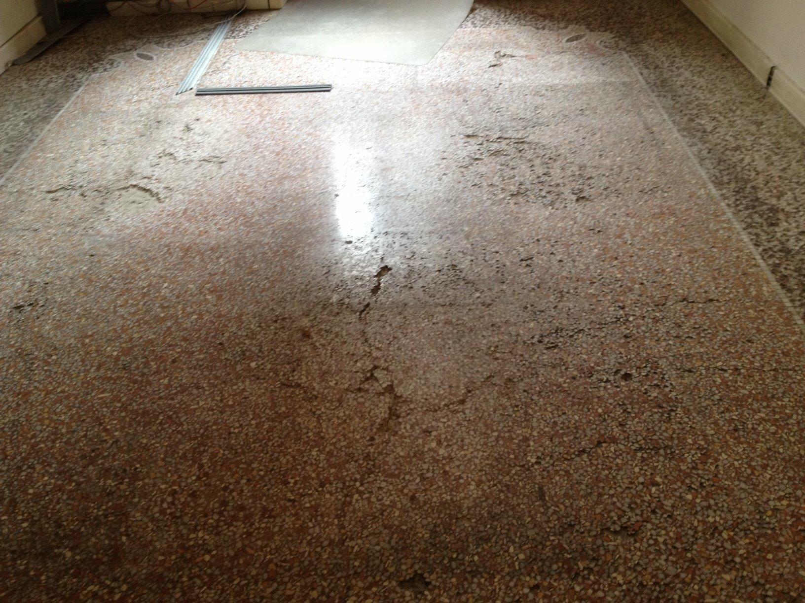 Restauro terrazzo veneziano del1860 pavimenti a roma for Veneziana pavimento