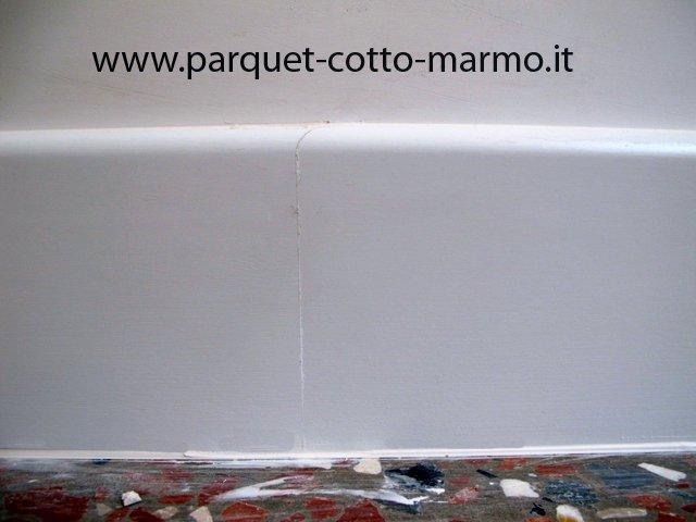 battiscopa in legno: posa in opera - Pavimenti a Roma