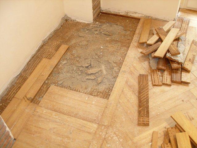 parquet tradizionale: riparazione