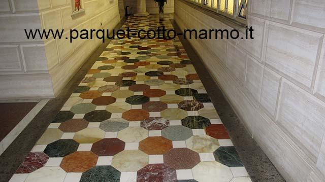 Pavimento Rosso E Bianco : Pavimenti in marmo e in granito pavimenti a roma