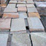 pavimenti in porfido: Piastrelle cm.30 spessore 1-3