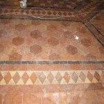 Restauro pavimento in cotto antico: trattamento a cera
