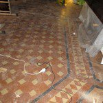 Restauro pavimento in cotto antico: