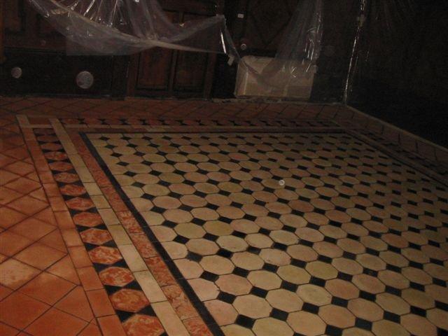 Pavimenti In Cotto Con Mosaico : Pulire il cotto come fare