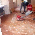 pavimenti in cotto: lavaggio