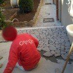 pavimenti in porfido:basaltina posa