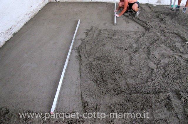 Cemento per massetto