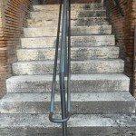 pavimenti per esterni-scale-in-travertino-musei-traiano