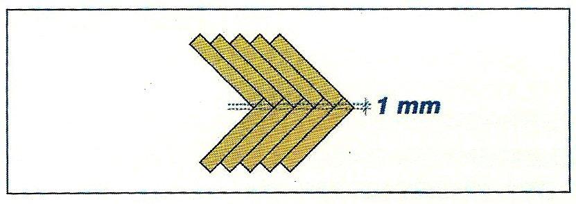 pavimenti in parquet tradizionale:posa a spina di pesce
