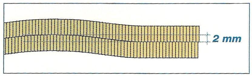 pavimento in parquet tradizionale: posa a tolda di nave