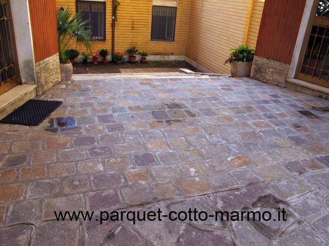 Mattonelle da terrazzo cool piastrelle da giardino with for Porfido prezzi bricoman