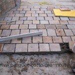 pavimenti in porfido - posa porfido quadrangolare